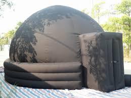 dome gonfiabile planetario